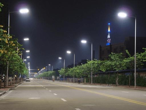 Đèn đường led 150w - PNL09 có khả năng chống lại sét và đảm bảo an toàn cho người sử dụng