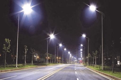 Đèn ứng dụng phổ biến để chiếu sáng cho các tuyến đường