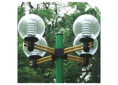 Hình ảnh thực tế tay chùm thường dùng cho cột đèn Arlequin