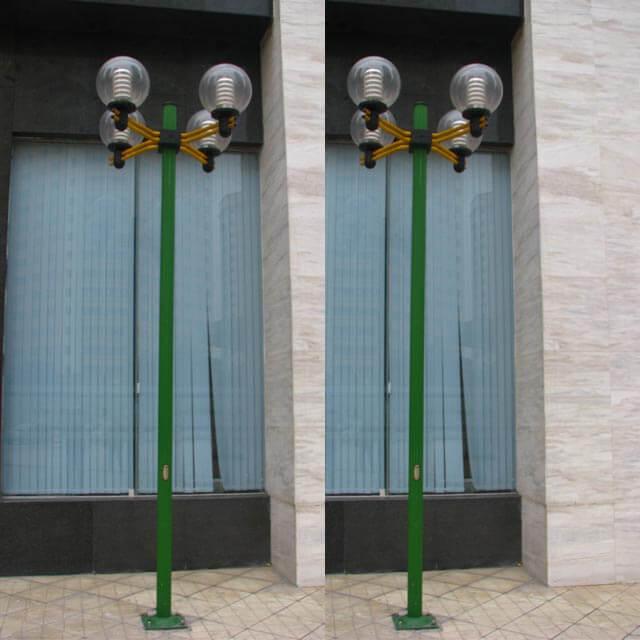 Hình ảnh về cột đèn Arlequin trong thực tế