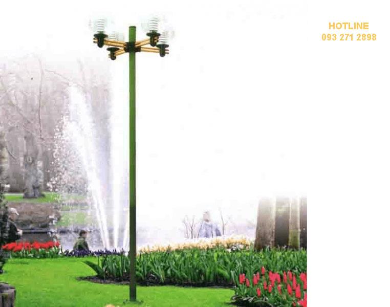 Sử dụng cột đèn sân vườn Arlequin ở trong mọi khu vực