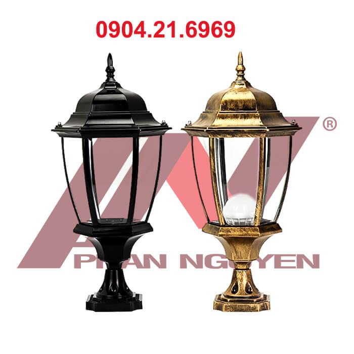 Cột đèn sân vườn Arlequin lắp đèn hoa sen, lắp đèn chùa, lắp đèn lồng