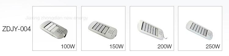 Các sản phẩm đèn đường led với công suất khác nhau