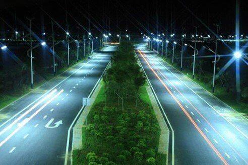 Chiếu sáng đường phố đang được quan tâm và đầu tư