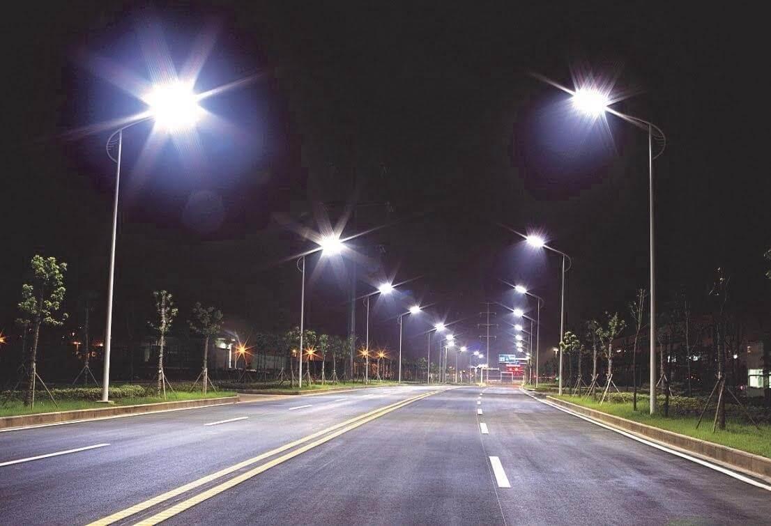 Công suất chiếu sáng vượt trội của đèn đường led PNL18