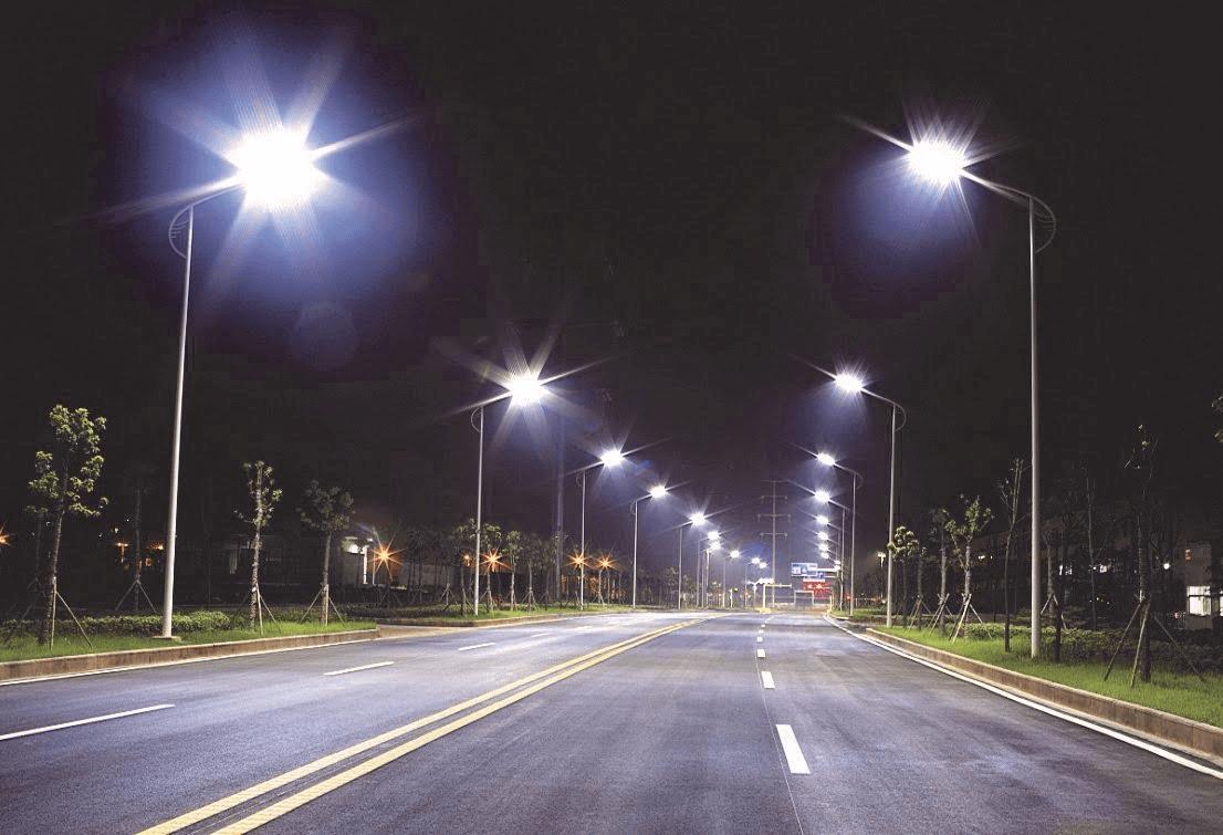 Đèn đường led 50W - PNL 18 được sử dụng phổ biến