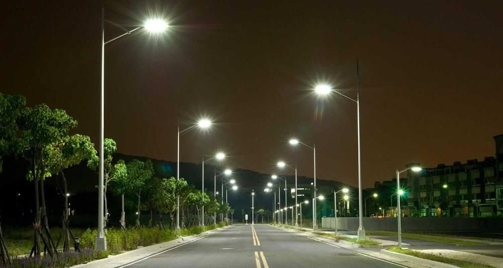 Đèn đường led PNL21 không gây chói mắt cho người nhìn