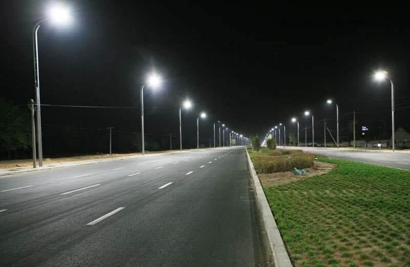 Đèn đường led giúp đường phố được chiếu sáng tốt hơn