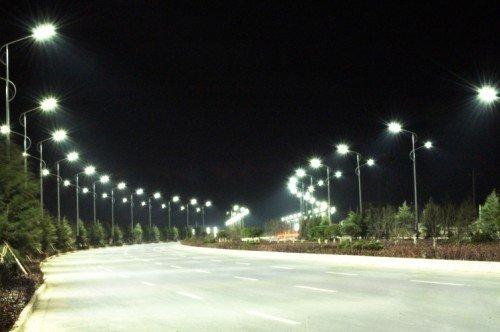 Đèn led chiếu sáng đường phố là sản phẩm có nhiều ưu điểm vượt trội