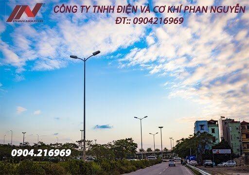 Phan Nguyễn - sản xuất cột đèn chiếu sáng - đèn cao áp - đèn đường led chất lượng