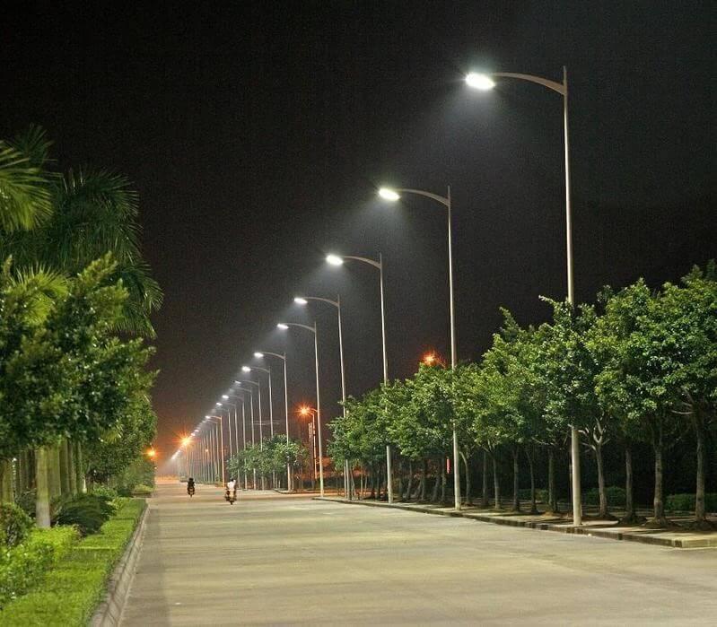 Sản phẩm đèn đường led 80W có độ bền cao hơn nhiều các loại đèn khác