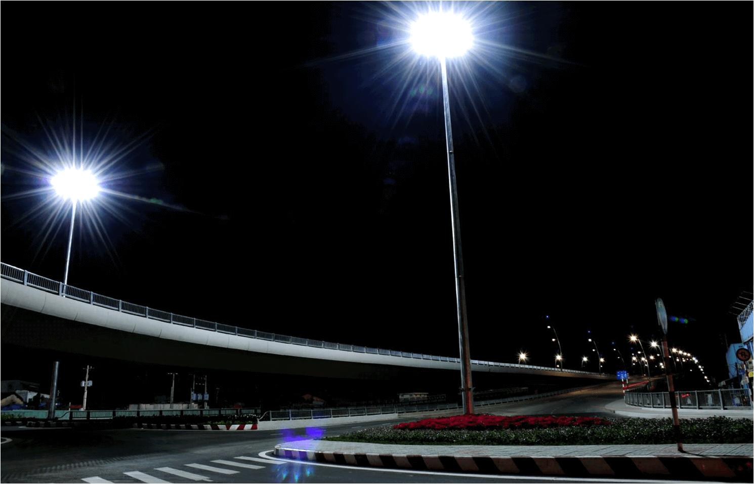 Trên mọi nẻo đường đều có bóng dáng đèn đường led làm nhiệm vụ của mình