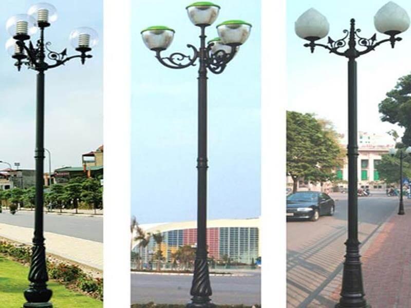Cột đèn sân vườn đẹp sản xuất bởi Phan Nguyễn