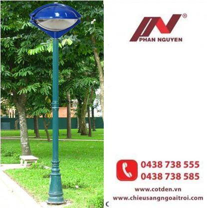 Cột đèn sân vườn PINE lắp đèn con mắt