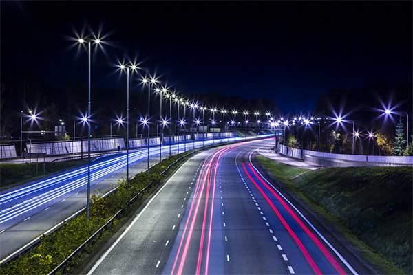 Đèn đường led 100w chiếu sáng đường phố