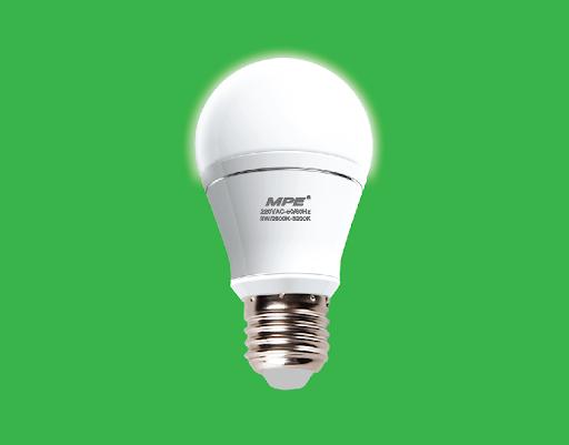 Ánh sáng của đèn LED êm dịu, không gây chói mắt