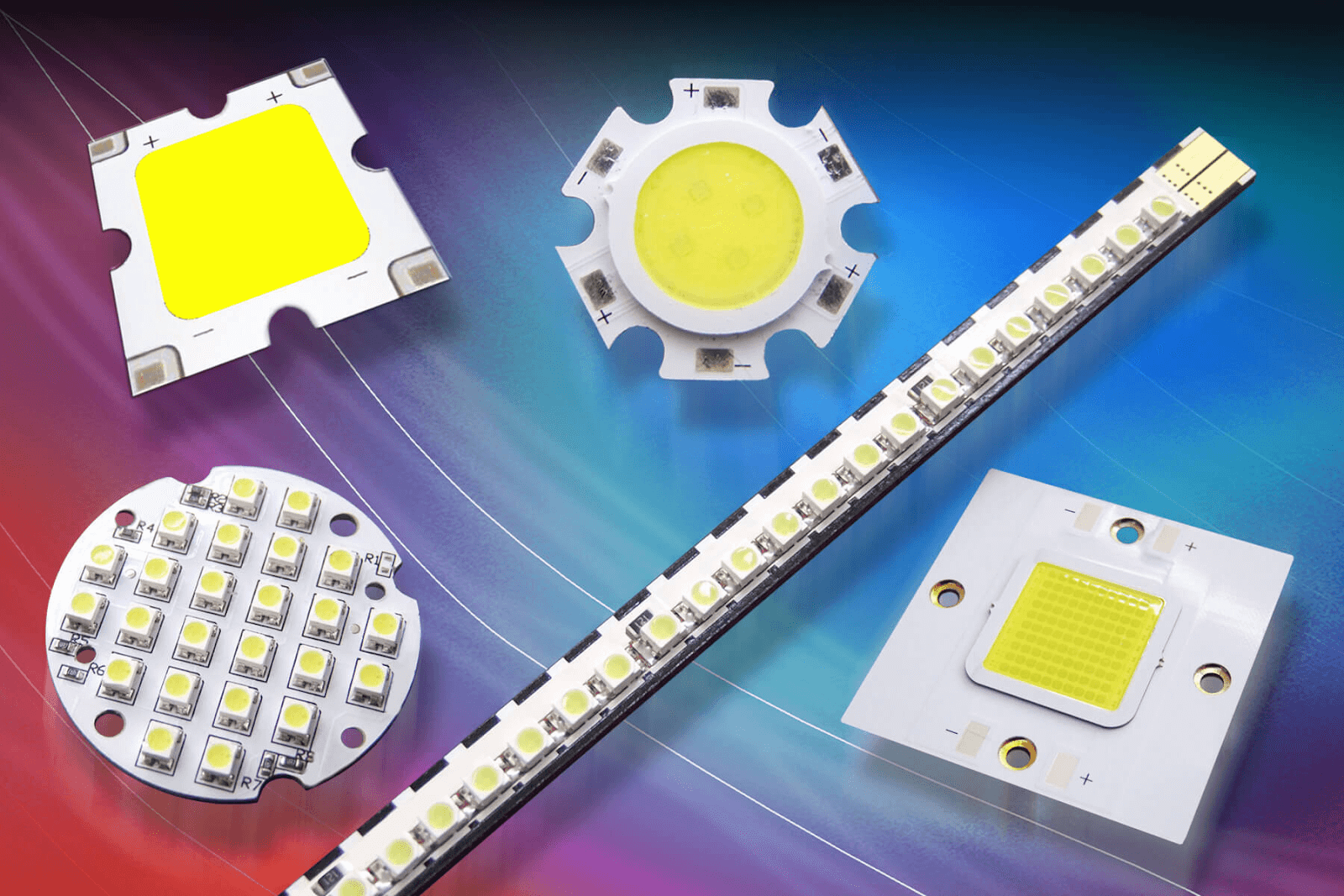 Chip của đèn Led chiếu sáng ngoài trời là bộ phận phát sáng của đèn