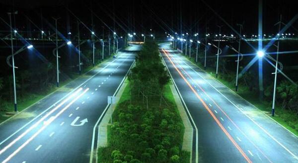 Đèn đường led 160 ánh sáng