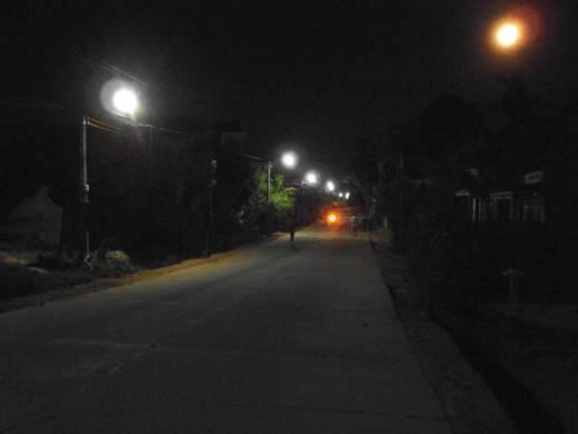 Đèn đường led tiết kiệm điện năng