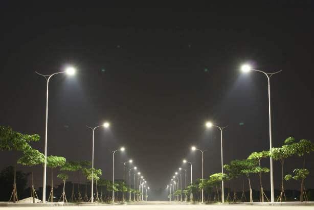 Sử dụng đèn led chiếu sáng cho đường phố