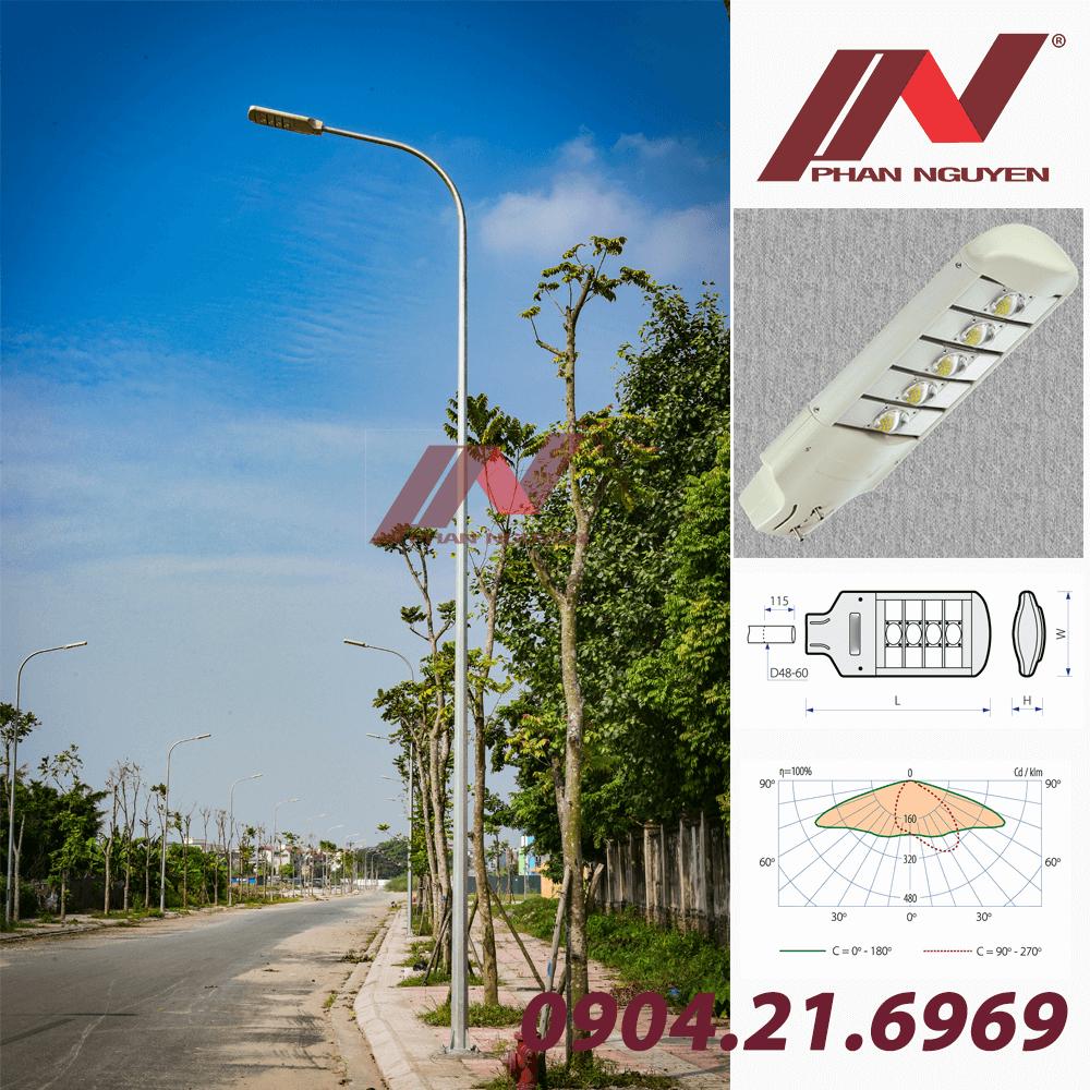 Đèn đường Led Halumos Op được sử dụng rộng rãi tại Bình Phước