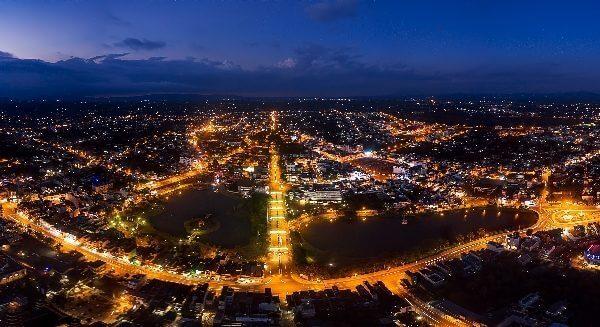 Đèn đường led tại Lâm Đồng