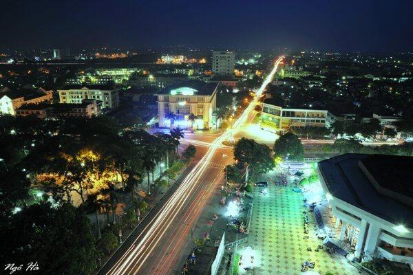 Đèn đường led tại Thái Bình