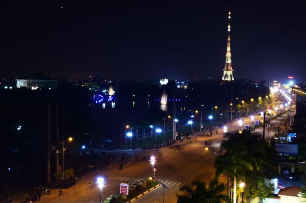 Đèn led được sử dụng phổ biến tại các công trình ở Tuyên Quang