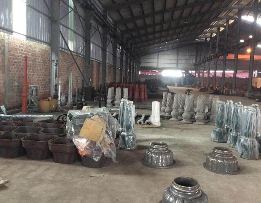 nhà máy sản xuất cột đèn sân vườn chiếu sáng