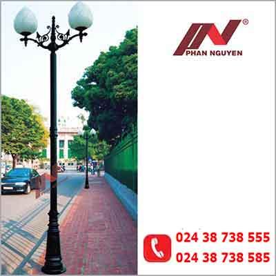 Kiểu cột đèn sân vườn phong cách hiện đại