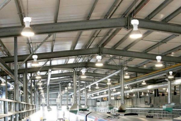 Những lợi ích đèn led nhà xưởng mang lại cho Doanh nghiệp