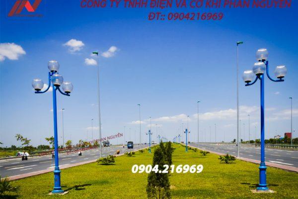 Bảng giá cột đèn sân vườn năm 2021
