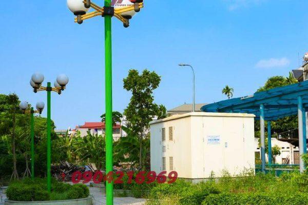 Cột đèn sân vườn chất lượng có đặc điểm gì nổi bật