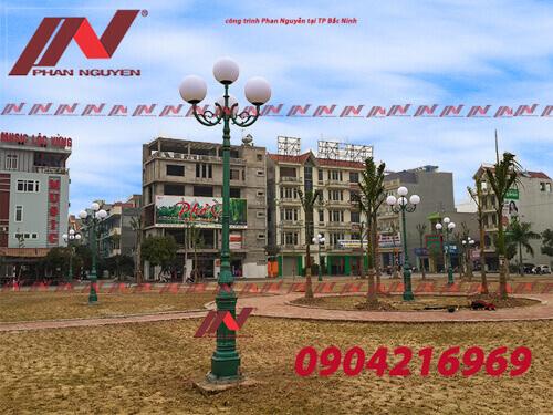 Đánh giá tổng quát cột đèn sân vườn Phan Nguyễn