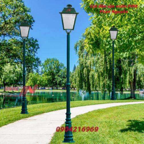 Xu hướng sử dụng cột đèn sân vườn trong năm 2021