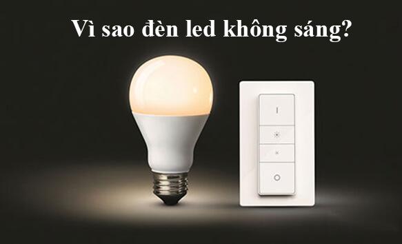 5 lý do khiến đèn led hoạt động không ổn định